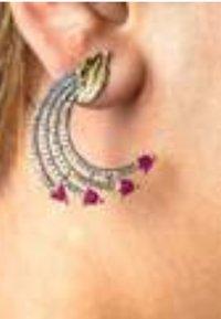 Bombay Sunset - SHOOTING - Earrings - red - 1
