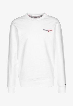 CHEST GRAPHIC CREW - Sweatshirt - white