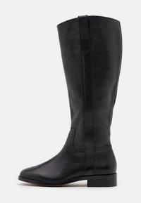 Madewell - WINSLOW KNEE HIGH BOOT - Vysoká obuv - true black - 1