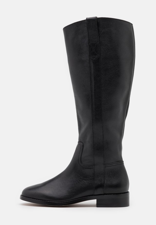 WINSLOW KNEE HIGH BOOT - Laarzen - true black