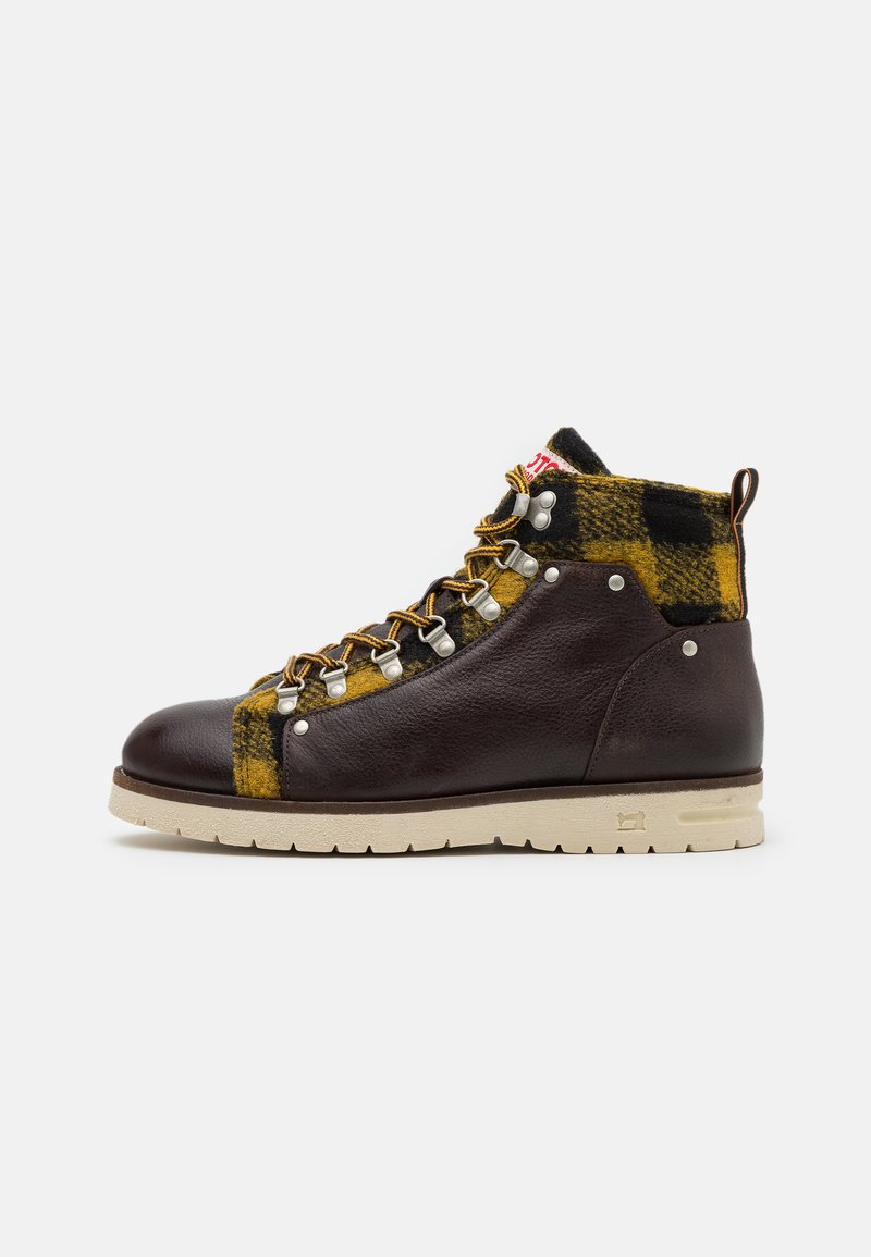 Scotch & Soda - LEVANT - Lace-up ankle boots - dark brown