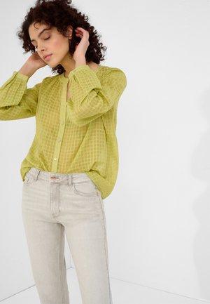 Blouse - gelbgrün