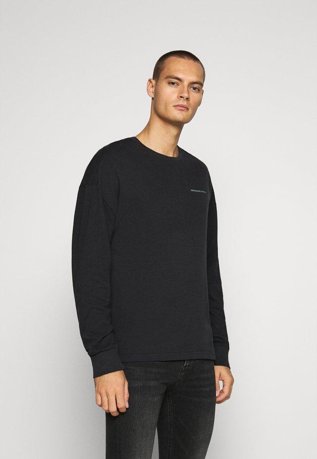 EXPLODED - Maglietta a manica lunga - black