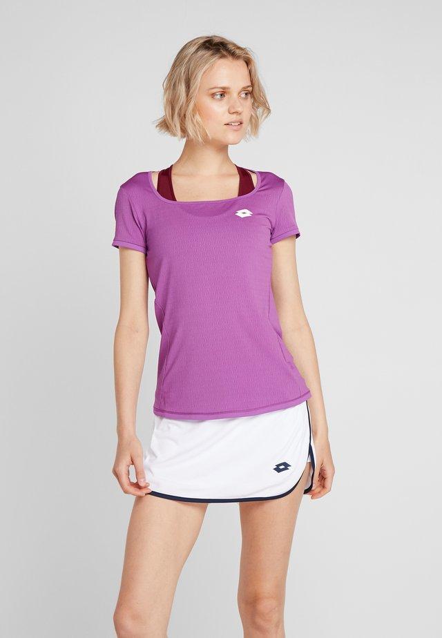 TENNIS TECH TEE  - T-shirt basic - purple willow