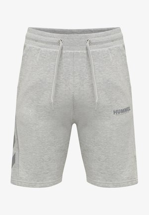HMLLEGACY - Sports shorts - grey melange