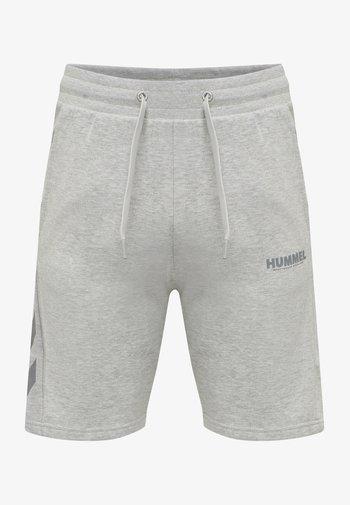 HMLLEGACY - Sports shorts - grey melange