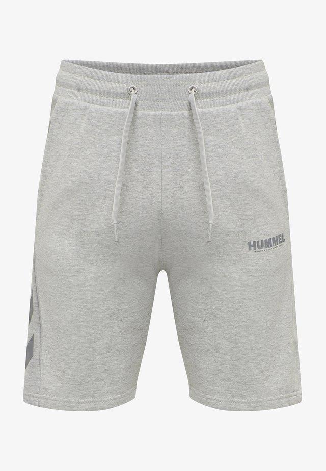 HMLLEGACY - Pantalón corto de deporte - grey melange