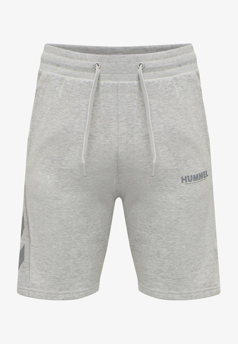 Hummel - HMLLEGACY - Träningsshorts - grey melange