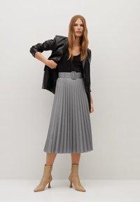 Mango - LADY - A-line skirt - grau - 1