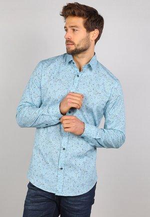 Shirt - pebble blue