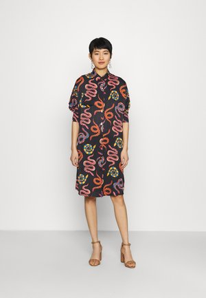 SNAKES - Shirt dress - multi