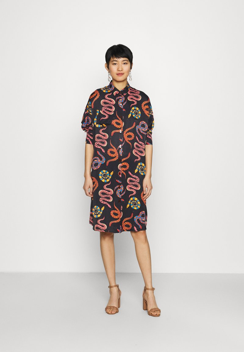 Farm Rio - SNAKES - Shirt dress - multi