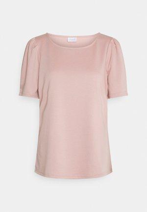 VITINNY O NECK PUFF - T-shirt basic - misty rose