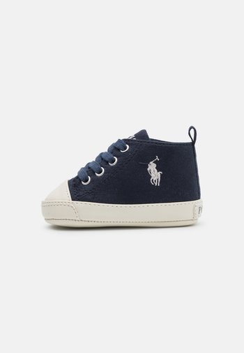HAMPTYN HILAYETTE - First shoes - navy/cream