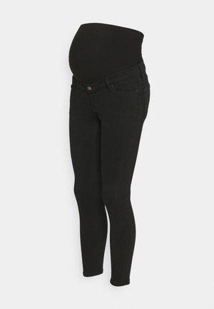 JAMIE OVERBUMP - Jeans Skinny Fit - black
