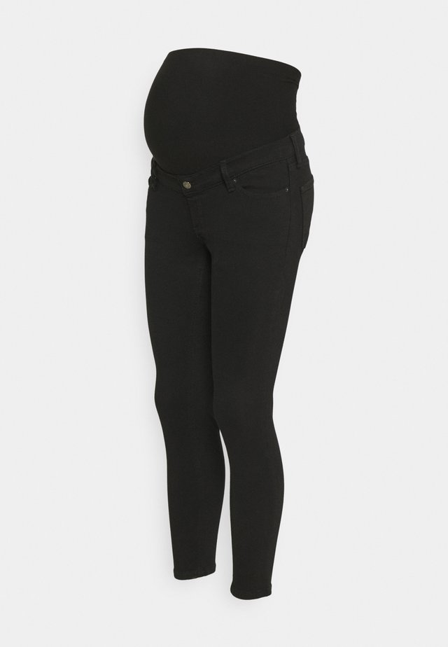 JAMIE OVERBUMP - Jeans Skinny Fit - black
