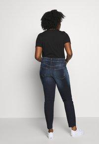 JUNAROSE - by VERO MODA - JRFIVEADIA DB ANKLE - Jeans Skinny Fit - dark blue denim - 2