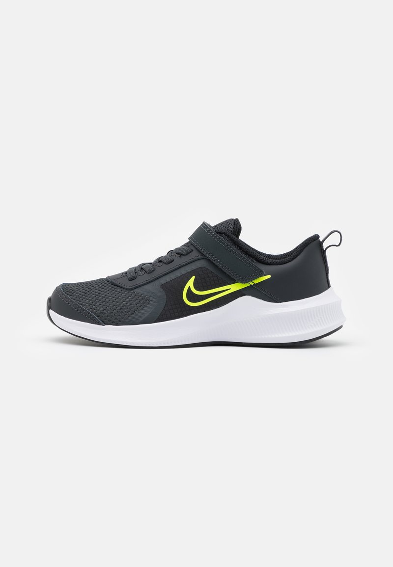 Nike Performance - DOWNSHIFTER 11 UNISEX - Hardloopschoenen neutraal - dark smoke grey/volt/black/white