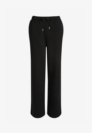 CO-ORD WIDE - Tracksuit bottoms - black