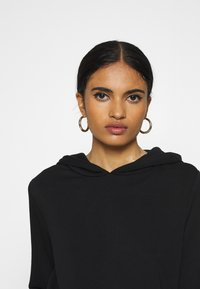 ONLY - ONLELVIRA HOOD DRESS - Day dress - black - 3