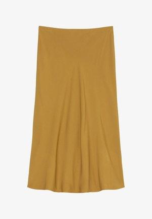 Spódnica trapezowa - golden hour