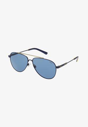 Sluneční brýle - navy blue/yellow