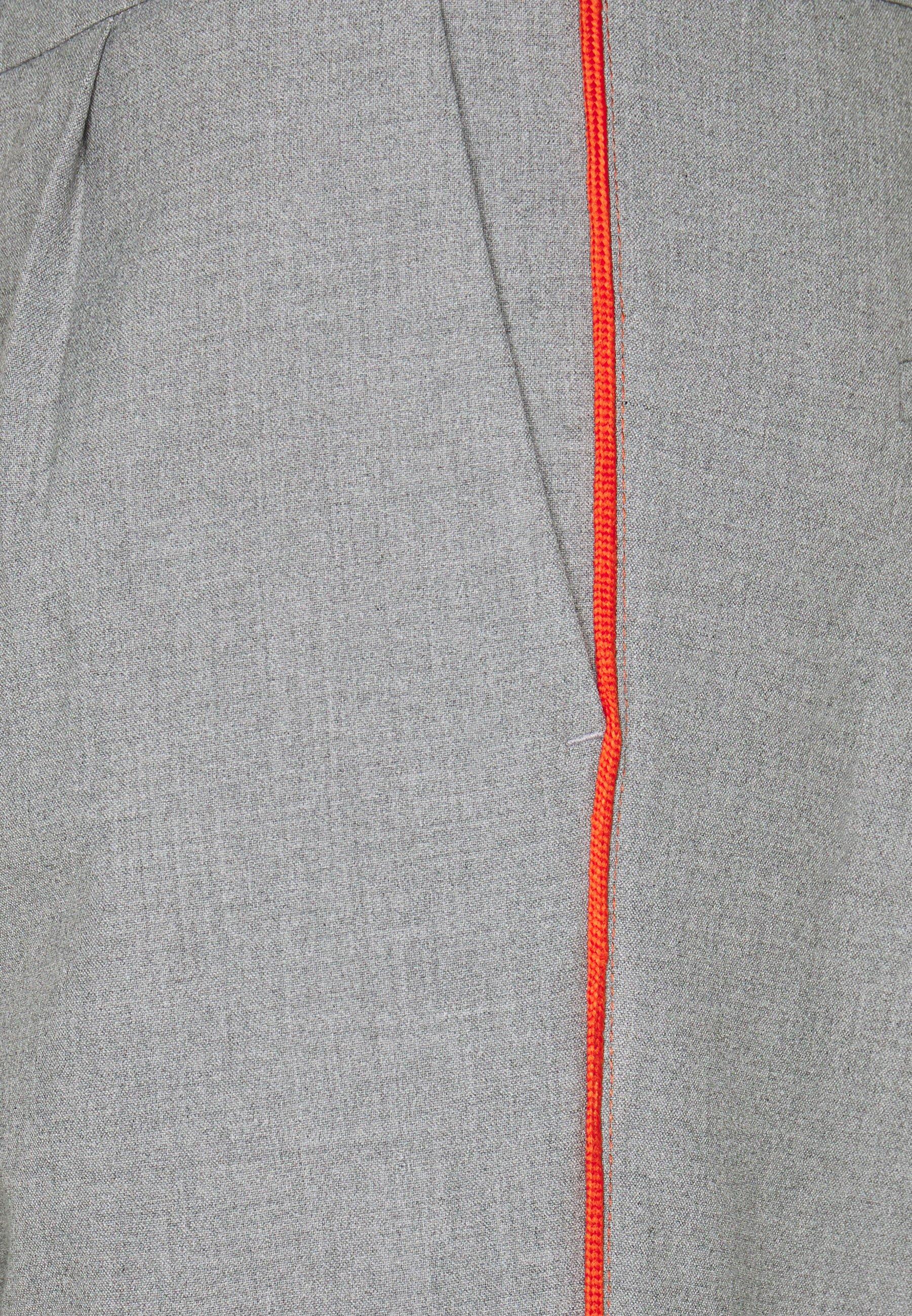 Pre Order Hot Sale Women's Clothing Cartoon Trousers middle grey melange dJ1N0ixld HNBqT6eqh