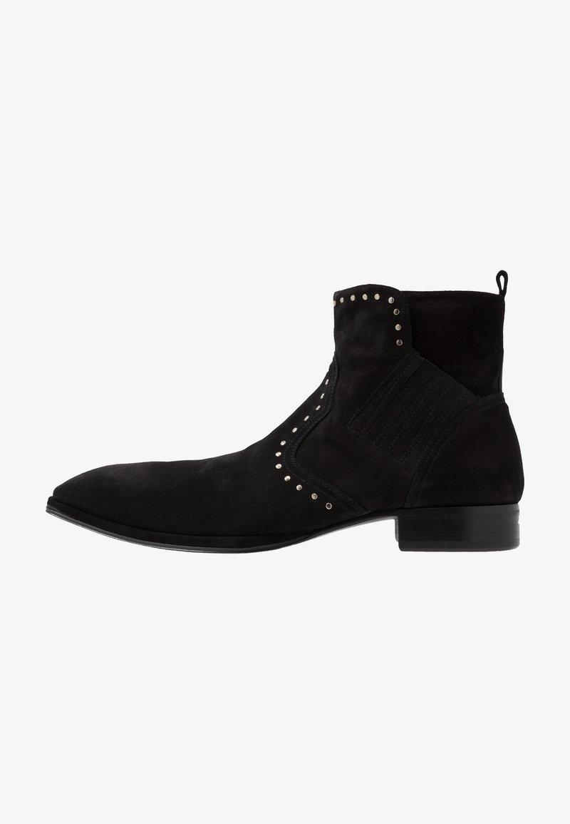 Jo Ghost - Cowboy/biker ankle boot - nefer nero