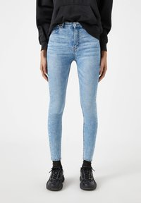 PULL&BEAR - Jeans Skinny Fit - light blue - 0