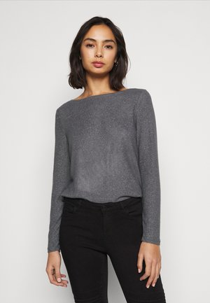 ONLKALA BOAT NECK  - Strickpullover - medium grey melange
