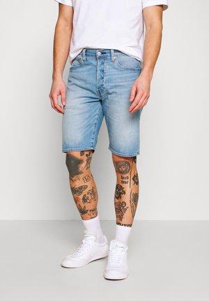 501 HEMMED UNISEX - Denim shorts - bratwurst ltwt shorts