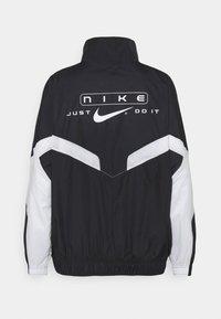 Nike Sportswear - STREET - Training jacket - black/pure platinum/white - 8