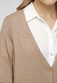 s.Oliver - Cardigan - beige melange - 6