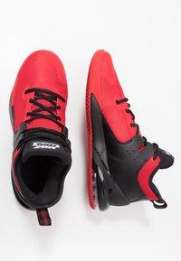 Nike Performance - AIR MAX IMPACT - Obuwie do koszykówki - university red/white/black - 1