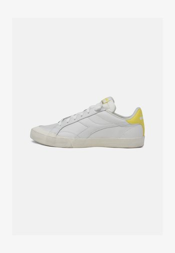 MELODY DIRTY - Trainers - white yellow