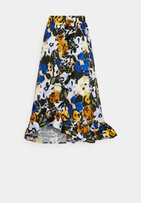 Selected Femme - SLFRONNA MIDI SKIRT  - A-line skirt - sudan brown - 1