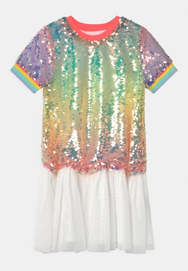 Cocktail dress / Party dress - multi coloured/white