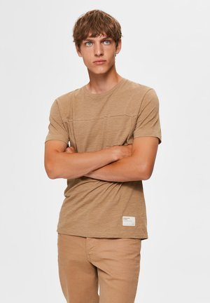 T-shirt basic - kelp