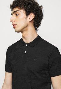 Emporio Armani - Polo shirt - black - 3