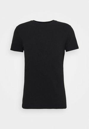 BLEND REGULAR BLOCK CREW LOUNGEWEAR - Camiseta de pijama - black