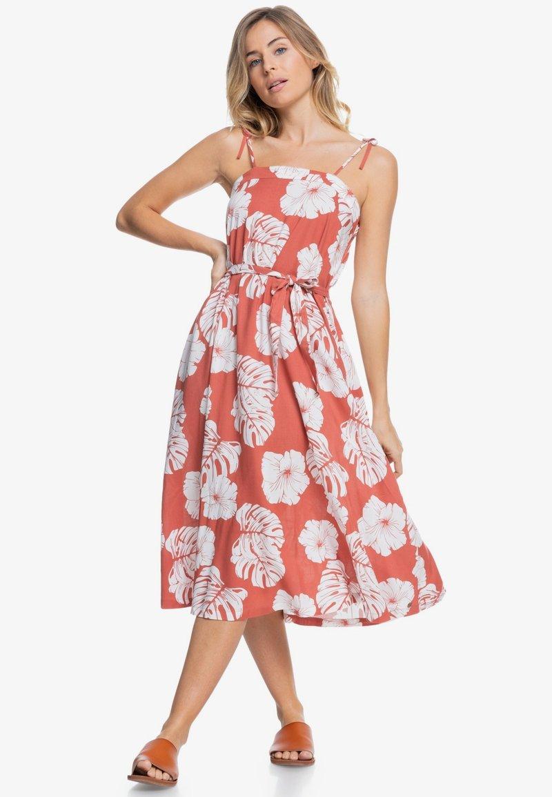 Roxy - NOWHERE TO HIDE - Day dress - marsala