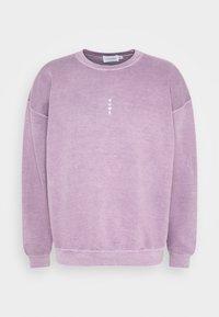 Topman - VERT ROME PRINT - Sweatshirt - lilac - 4