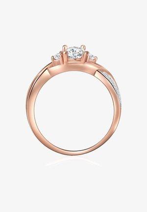 Ring - roségold/silber