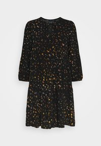GAP - MINI TRAPEZE - Day dress - black - 4