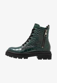 Kennel + Schmenger - BOBBY - Platform ankle boots - verde - 1