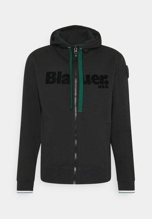 APERTA CAPPUCCIO - Zip-up hoodie - black