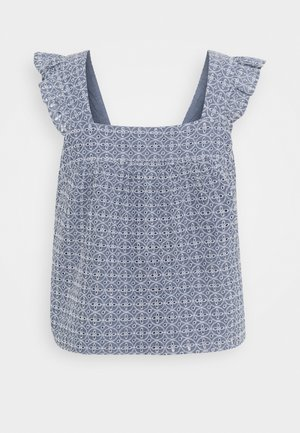 Blouse - medium indigo