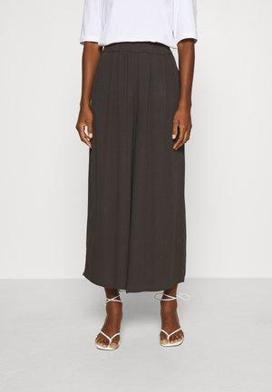 PLEATED PANTS - Trousers - phantom