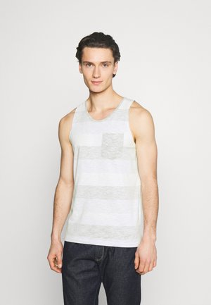 JJSTRIPE TANK CREW NECK - Top - dusty olive