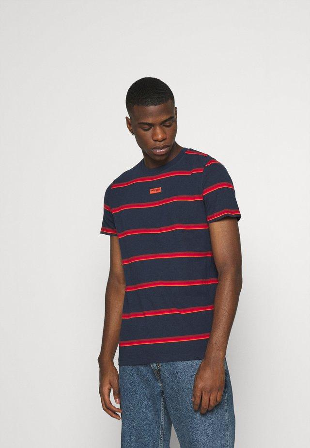 MOTEL TEE - Camiseta estampada - navy